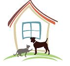 casa con cane e gatto