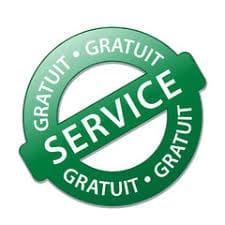 service gratuit